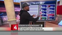 Floyd Mayweather Reveals His TOP 5 Fighters Of All Time.. RANKS HIMSELF #1 ABOVE ALI!!