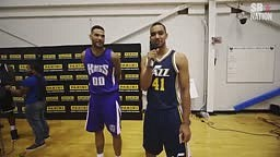 LOL... WATCH NBA ROOKIES IMITATE VETERANS LIKE KOBE, LEBRON + MORE