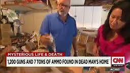 1200 Guns and 7 tons of Ammo found in Dead White Man's Home