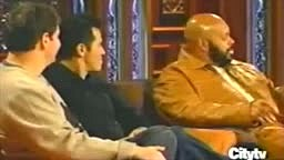 Footage of Suge Knight disrespecting Eazy-E on Jimmy Kimmel after his death
