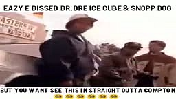 Eazy E DISSES Dr Dre Snoop Dogg and Ice Cube