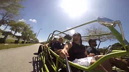 Tours in the only STREET LEGAL 8 PASSENGER DUNE BUGGY in the Florida!