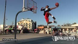 Crazy Dunks at Venice Beach Ca