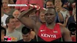 Superman Julius Yego strikes gold for Nairobi Kenya in Beijing - VIDEO