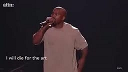 Kanye West Says he's running for president of the US during 2015 VMAS
