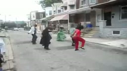 Hood Version of Michael Jackson's thriller