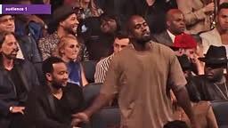 Kanye West Dancing at 2015 MTV VMAS