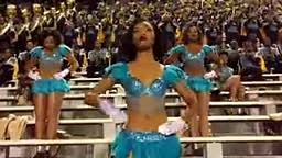 HBC DANCE The Dancing Dolls of Southern University & marching band