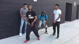 King Bach-When you challenge someone to a dance battle who is actually good