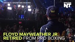 Floyd Mayweather RETIRES Undefeated at 49-0  EARNING OVER $800 MILLION in 19 Years