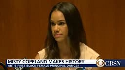 CONGRATS!! Misty Copeland Becomes FIRST Black Principal Ballerina at American Ballet Theater