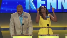 LOL! Stay at Home Mom ADMITS She SELLS DRUGS On Family Feud with Steve Harvey
