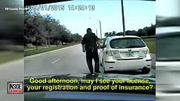 Cop in an UNMARKED Car pulls over woman for SPEEDING.. She Tells Cop 'This is Why You People Get SHOT!'