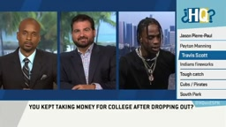 Travis Scott on Highly Questionable AVOIDS Dating Rihanna Rumors! lol
