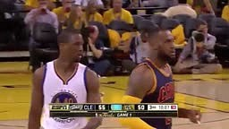 LeBron's Overrated Defense Exposed - 2015 NBA Finals