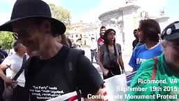 WATCH: Confederate Group Tries To Disrupt #BlackLivesMatter Event… But Get It All Wrong