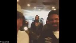Chris Brown and Mike Epps Crip Walk Battle. Who you think won?