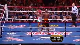 When being slick backfires Mayweather KOs Victor Ortiz after intentional Headbutt