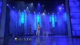 Watch Pharrell perform his latest single Freedom live on Ellen!