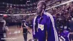 Lamar Odom dedication by Espn open court