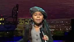 CUTEST little girl Heavenly Joy Jerkins Sings -War- on Praise the Lord
