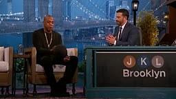 LOL! Jay Z Talks Rap Battle with Busta Rhymes in High School [Jimmy Kimmel]