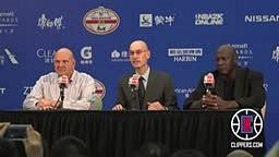 L.A. Clippers - Postgame Press Conference_ Steve Ballmer Michael Jordan