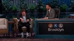 WATCH: Michael J Fox Debuts The SELF-LACING Nike Mag Shoes On Jimmy Kimmel Live