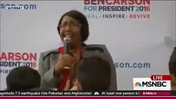 Ben Carson's Wife Candy Sings A HORRIBLE Rendition Of The National Anthem