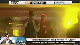 ESPN First Take - Timbaland Talks About Empire, Best Rapper & NBA