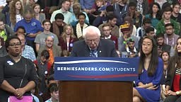 College Student's Hilarious Reaction To Bernie Sanders Calling For Legalized Marijuana