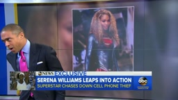 Serena Williams Says She Chased Down Cellphone Thief