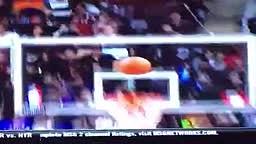 Knicks Rookie Center KRISTAPS PORZINGIS THROWS DOWN ANOTHER PUT BACK DUNK