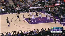 Steph Curry and Rajon Rondo Duel in Sacramento!