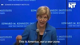 Elizabeth Warren Speaks About Black Lives Matter
