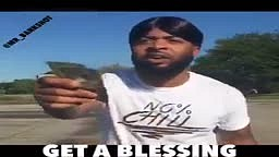 When black people get a blessing vs white people
