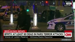 CNN - Eyewitness recounts Paris attack