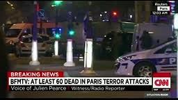 CNN - Eyewitness recounts Paris attack