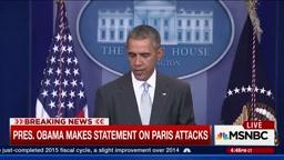 President Obama on Paris Attack