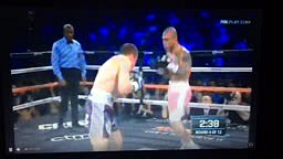 Canelo VS Cotto Fight Rd 4