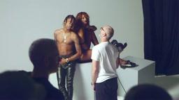 BTS: Rihanna & Travi$ Scott's Puma Creeper Photoshoot