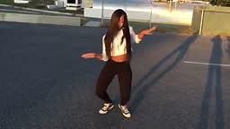 Check her Dance Skills