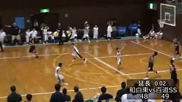 CRAZY FULL Court Buzzer Beater