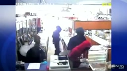 LOL!! An OLD LADY With A GUN Scares off 4 ARMED ROBBERS!!