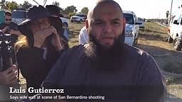 Luis Gutierrez talks about his wife, who saw San Bernardino shooter