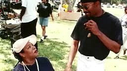 Maya Angelou talks about breaking Tupac down into tears