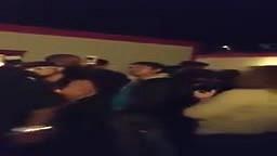 DMX battles guy backstage at Rock the Bells