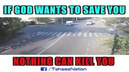 If God Wants to SAVE you NOTHING can kill you