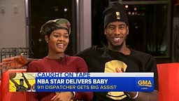 Iman Shumpert CRIES while telling story of delivering NEW BORN BABY in Bathroom