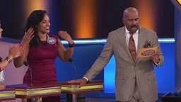 FAMILY FEUD Gets NASTY...What do YOU think a wife might do to her husband's face?